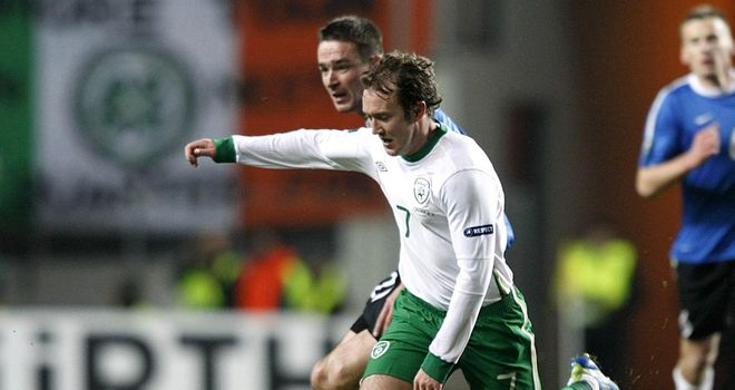 Aiden McGeady: Dreaming of playing in Poland and Ukraine this summer