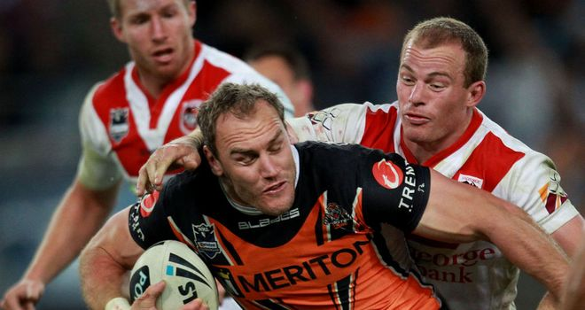 Gareth Ellis: West Tigers star missed the victory over New Zealand