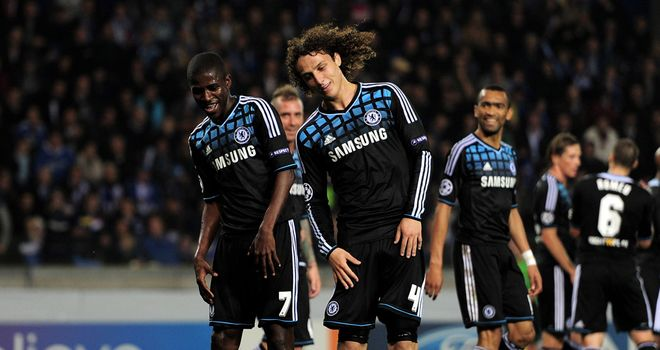 David Luiz: All eyes will be on the Chelsea defender against Valencia on Tuesday