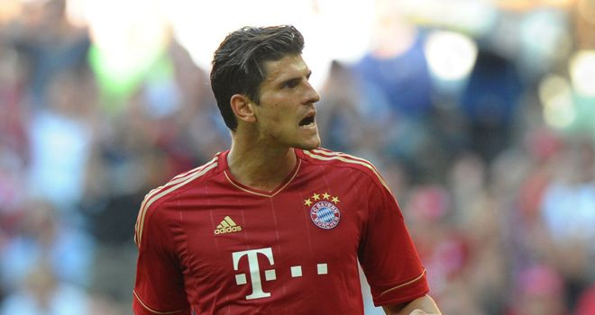 Mario Gomez: Delighted to have prolonged his association with Bayern Munich
