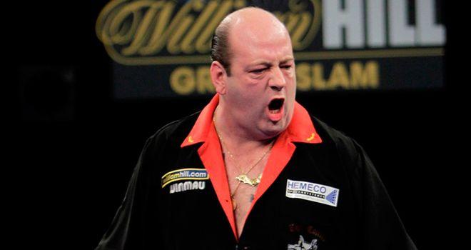 Hankey: beat Van Gerwen in a thriller
