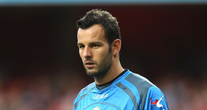 Samir Handanovic: Considered to be priceless by current employers Udinese