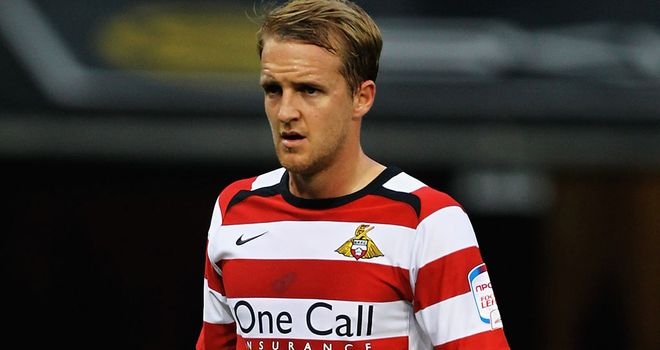 James Coppinger: Netted Doncaster's second