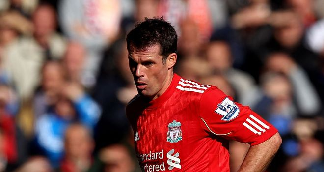 Jamie Carragher: His influence is rubbing off on Liverpool team-mates Agger and Skrtel