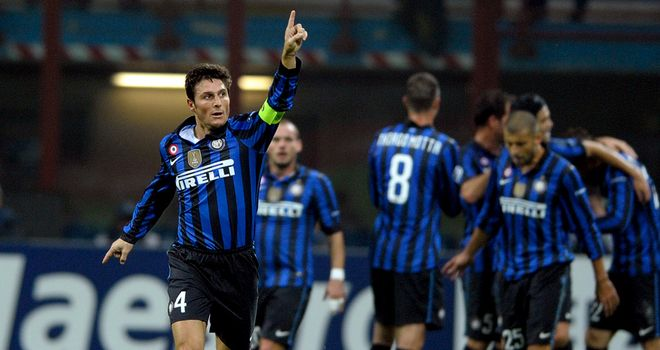 Javier Zanetti: The Inter Milan captain would welcome back Mario Balotelli