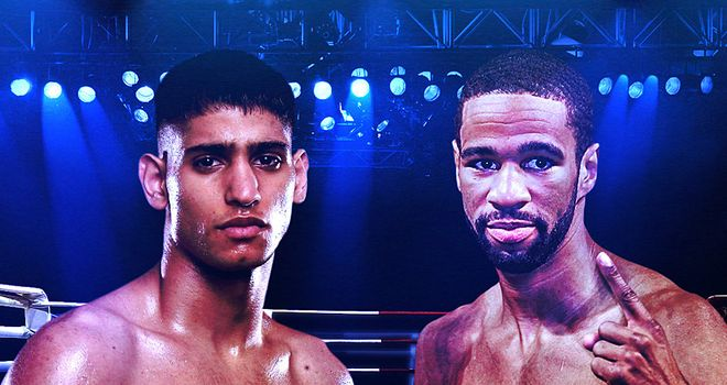 Khan: faces a stern test in Peterson
