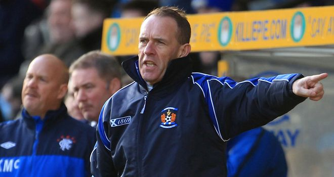 Kenny Shiels: His side got the year off to a winning start with a 2-1 win over St Mirren