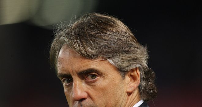 Roberto Mancini: City boss claims to be happy with the attacking options he has at his disposal