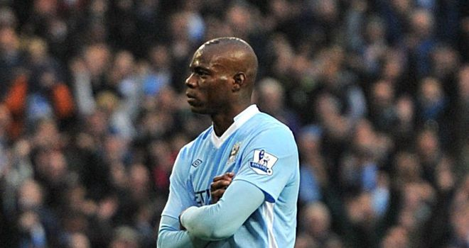 Mario Balotelli: Has a fan in QPR midfielder Joey Barton