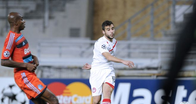 Ioannis Fetfatzidis: Fired Olympiacos to victory with the game's only goal