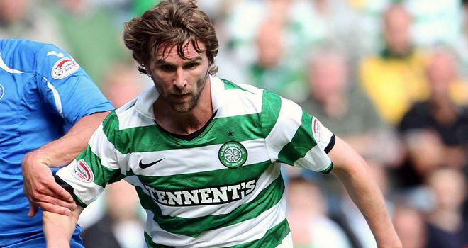 Paddy McCourt: Subject of interest of Blackpool, but Celtic keen to keep the winger