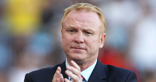 Alex McLeish: Praised his players after they held Stoke to a goalless draw