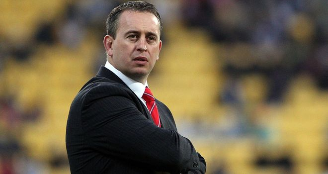 Steve McNamara: Rings the changes ahead of next month's clash against the Exiles