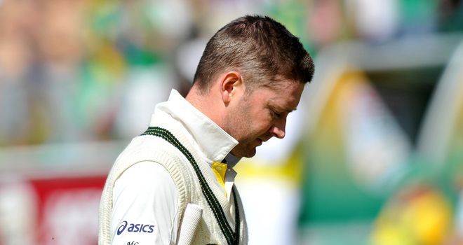 MIchael Clarke: Was part of spectacular Australian failure in second innings
