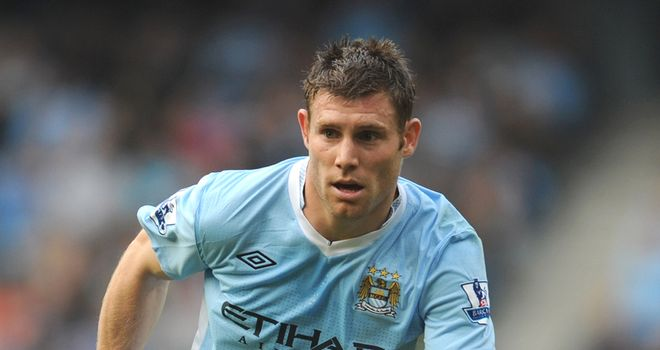 James Milner: Midfielder has made 41 Premier League appearances for Manchester City