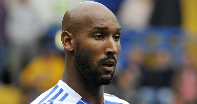 Nicolas Anelka: The striker does not feature in the plans of Andre Villas-Boas