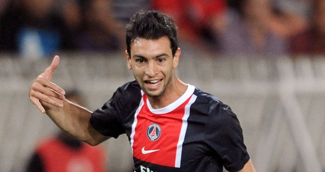 Javier Pastore: Rested for Thursday's Europa League clash with Red Bull Salzburg