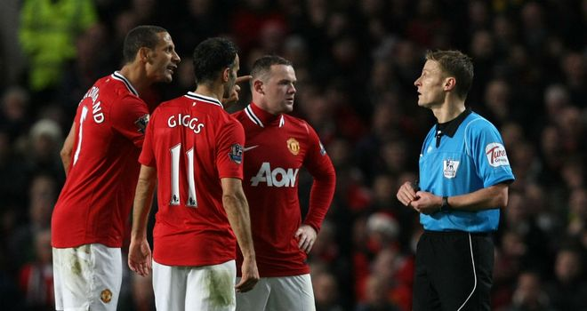 The decision to award Newcastle a penalty shocked Manchester United
