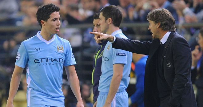 Samir Nasri: A source of frustration for Roberto Mancini