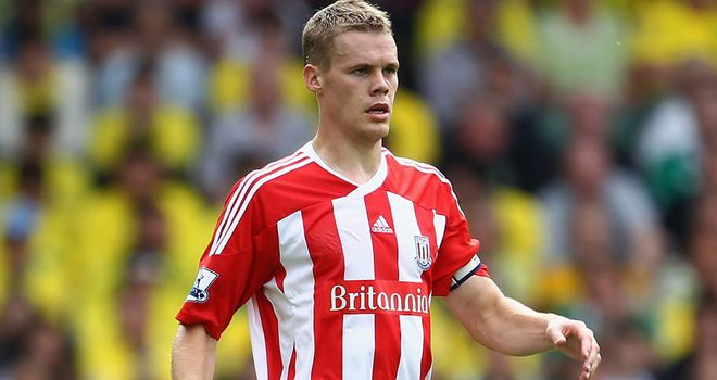 Ryan Shawcross: Has the support of England coach Gary Neville