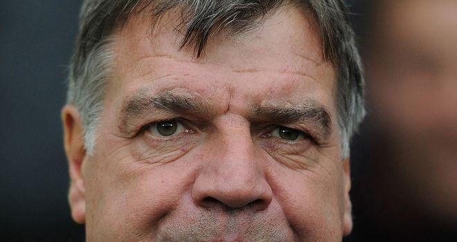 Allardyce: should lead West Ham to three points against Derby