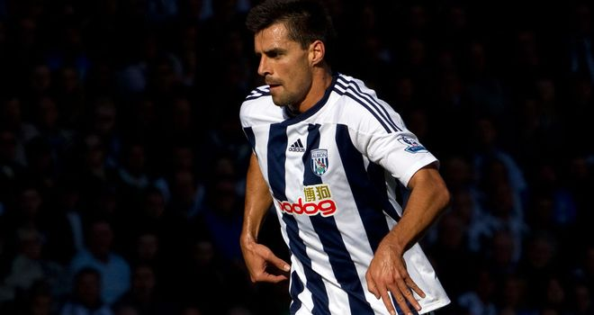 Paul Scharner: Former West Brom midfielder is on trial with Eintracht Frankfurt
