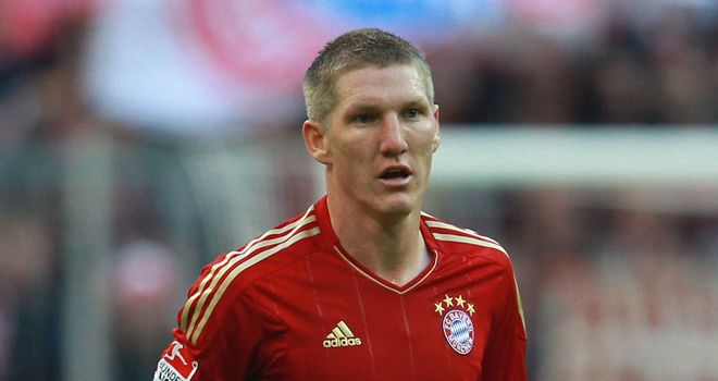 Bastian Schweinsteiger: Expected to miss the rest of 2011 after breaking his collarbone