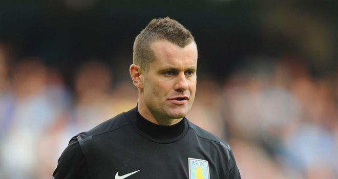 Shay Given: Full of respect for Alex McLeish as he tries to revive Aston Villa's fortunes