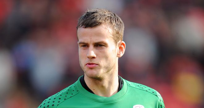 Luke Steele: Barnsley goalkeeper waiting for a new contract