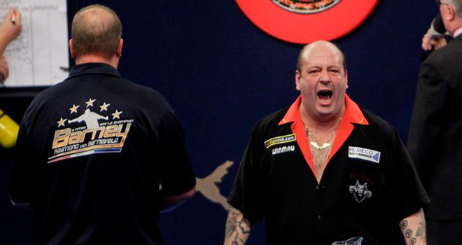 Hankey: big win over out-of-sorts Van Barneveld