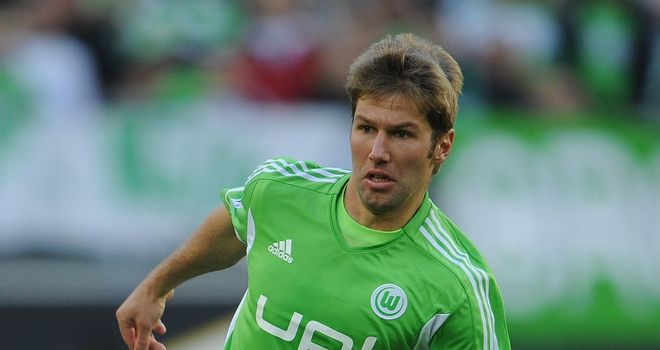 Thomas Hitzlsperger: Former Aston Villa midfielder has joined Everton on a short-term deal