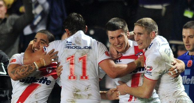 Briscoe: England squad has improved during Four Nations