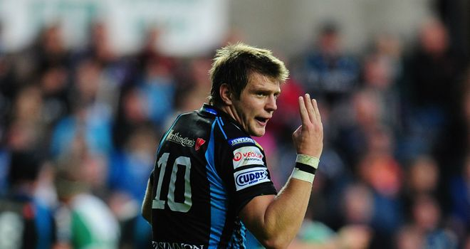 Biggar: kicked 23 of Ospreys' 28 points