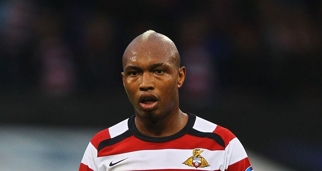 El-Hadji Diouf: Leaving Doncaster and could be set for a move to Leeds