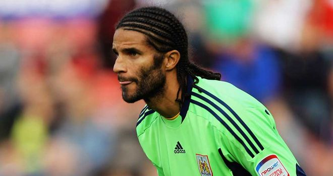 David James: Is not considering retirement following impressive display against Forest