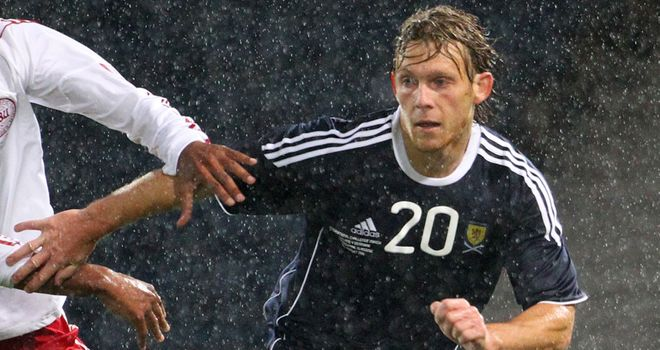 Craig Mackail-Smith: Insists he feels settled and comfortable in and around the Scotland setup