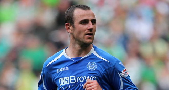 Dave Mackay: Scored for St Johnstone against Morton
