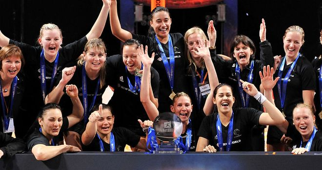 New Zealand: two-time defending World Netball Series champions