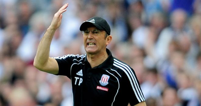 Tony Pulis: Looking to see his Stoke side earn only their second Premier League win in eight matches