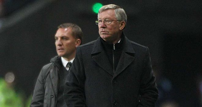 Ferguson: faces Rodgers' Liverpool on Sunday