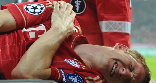 Bastian Schweinsteiger: Will undergo surgery on broken collarbone this week