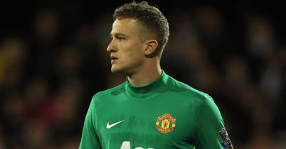 Anders Lindegaard: Has earned an extended run in the Manchester United side