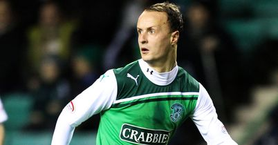 Leigh Griffiths: Delighted to be staying with Hibs until the summer