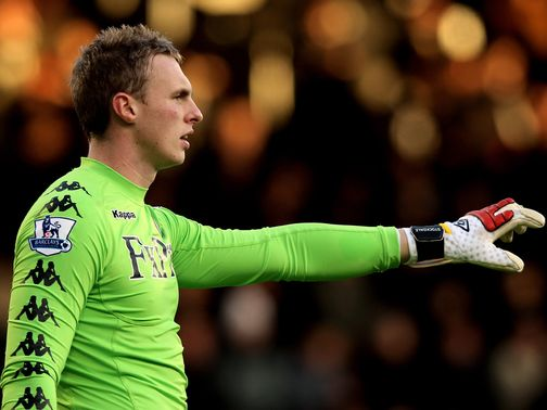 David Stockdale: Set to extend loan at Hull