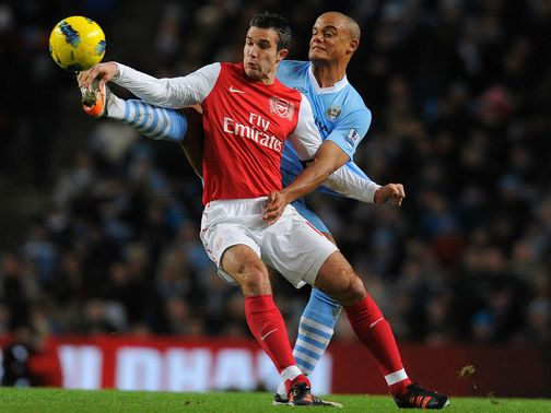 Vincent Kompany: Wants Van Persie at the Etihad Stadium