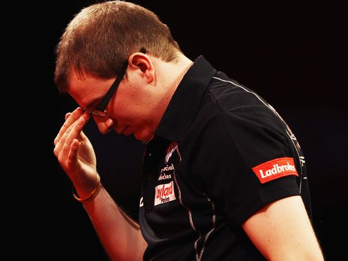 Mark Webster: Has found the going tough