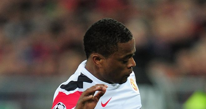 Patrice Evra: Set to play in Manchester United's FA Cup tie against Liverpool