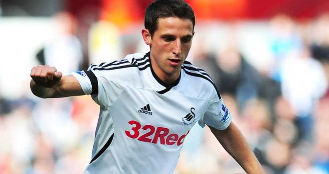 Joe Allen: Impressed in his 33 appearances for Swansea this season