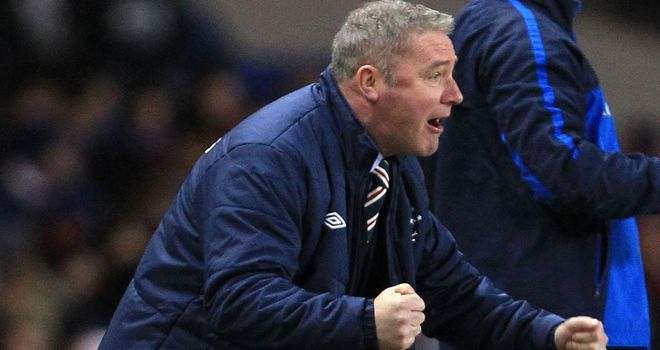 Ally McCoist: Admits his side face a tought test at St Mirren on Saturday