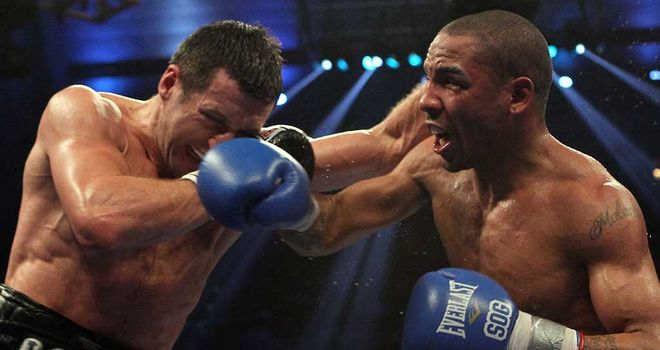 Froch (left) fell just short against Ward in 2011. Johnny thinks lightning could strike twice